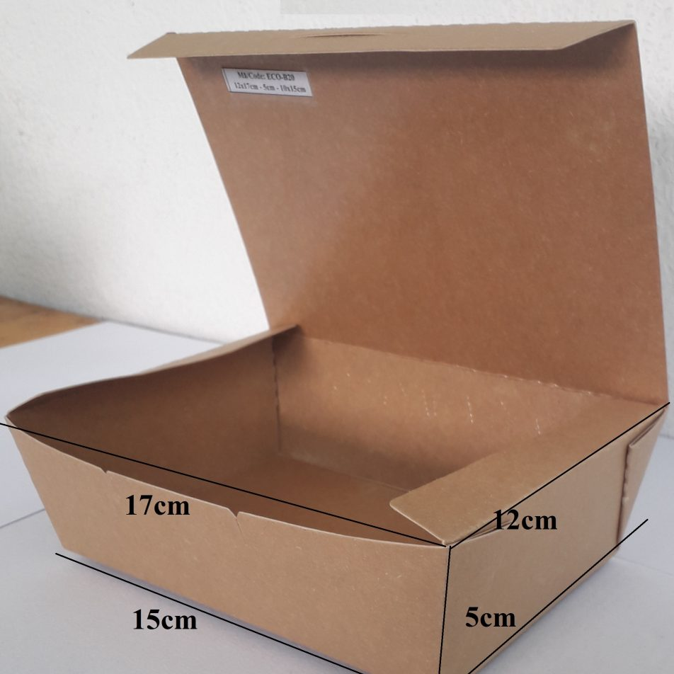 Brown Paper Box / Food Paper Box / Paper Tray Box